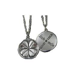 Four Leaf Clover Sterling Silver Necklace