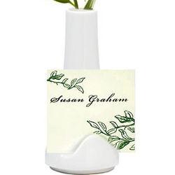 Ceramic Vase Place Card Holder