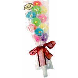 Flower Twinkle Pop Lollipop Bouquet