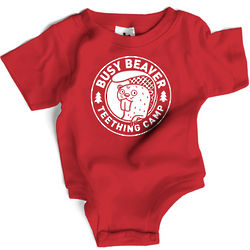 Teething Camp Snapsuit