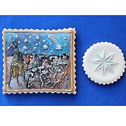 Wise Men and Star Springerle Cookies