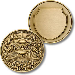 Engravable Graduation 2013 Coin