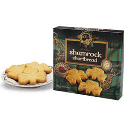 Shamrock All Butter Shortbread Cookies