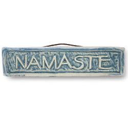Handmade Namaste Tile Wall Hanging