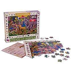 Parade of Animals Jigsaw Puzzle