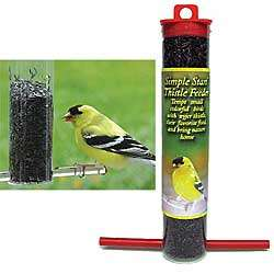 Mini Thistle Bird Feeders Pair