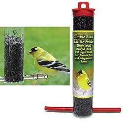Mini Thistle Bird Feeders Pair