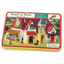 Mixed Up House Magnet Play Set