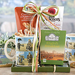 Coffee, Cookies and Tea Golf Gift Basket