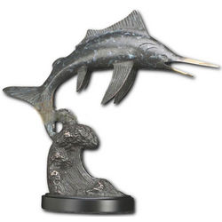 Leaping Marlin Statue