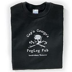 Personalized Peg Leg Pub T-Shirt