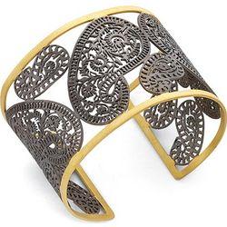 Cutout Paisley Cuff Bracelet