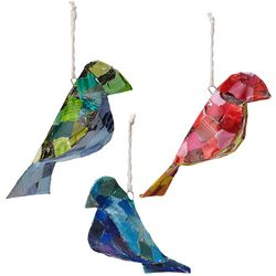 Recycled Bird Ornaments