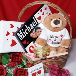 Just the Two of Us Valentine's Day Gift Basket