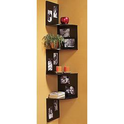 Corner Photo Shelf