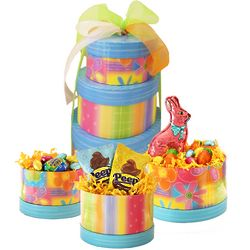 Easter Chocolate Candy Tower