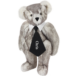 "15"" Salt and Pepper Teddy Bear"