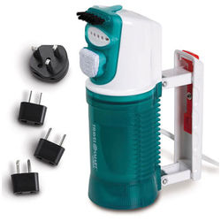 Dual-Voltage Travel Steamer with Adaptor Plugs