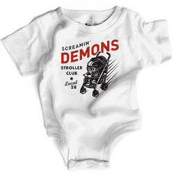 Demon's Stroller Club Snapsuit