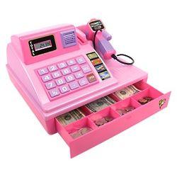 Pink Zillionz Talking Cash Register Toy