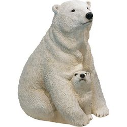 Forever Friends Polar Bear and Cub Sculpture