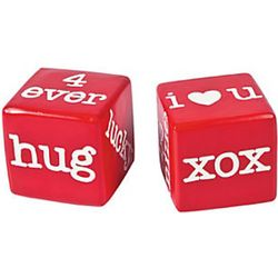 Lucky in Love Decorative Dice