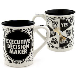 Executive Decision Maker Mug