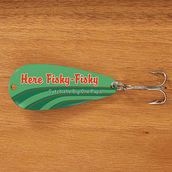 Fishing Stripes Personalized Lure