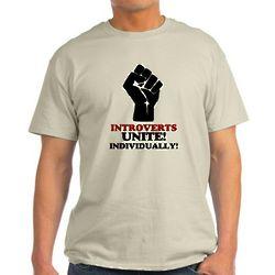 Introverts Unite Light T-Shirt