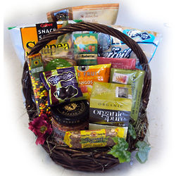 Healthy Birthday Gift Basket for Her