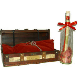 Treasure to Remember Message Bottle with Optional Engraving