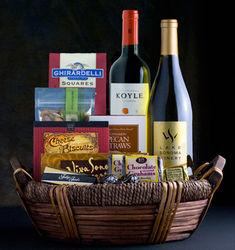 Fine Spirits Wine Gift Basket