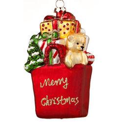 Christmas Shopping Bag Ornament