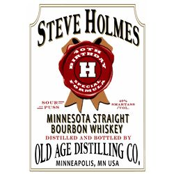 Personalized Jim Beam Bottle Label