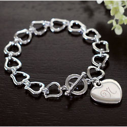 My Heart Link Bracelet