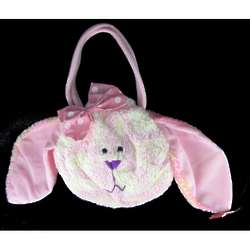 Little Girl's Plush Bunny Rabbit Handbag