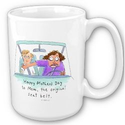 Original Seatbelt Mom Mug