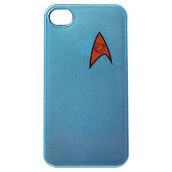Star Trek Science Blue iPhone Case