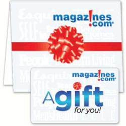 $20 Magazines.com Gift Card