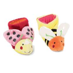 Tiny Toes Lady Bug and Bee Booties