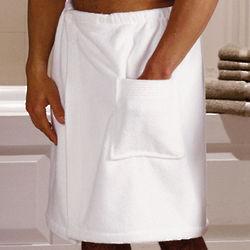 Men's Turkish Shower Wrap