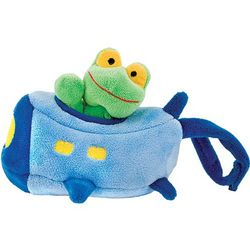 Froggy Plane Stroller Toy