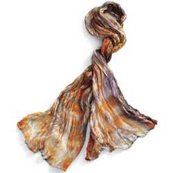 Mountain Sunset Silk Scarf
