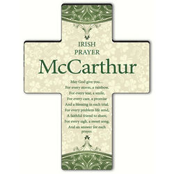Personalized Classic Irish Prayer Cross