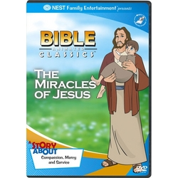 Animated Bible Classics - The Miracles of Jesus DVD