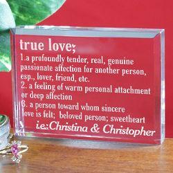 True Love Valentine Keepsake
