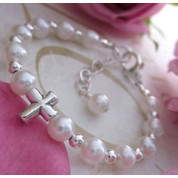 Child's Heaven Sent Pearl Bracelet