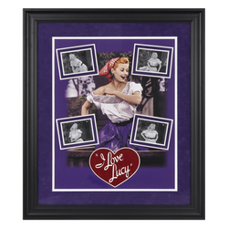 Lucille Ball I Love Lucy Grape Stomping Framed Print