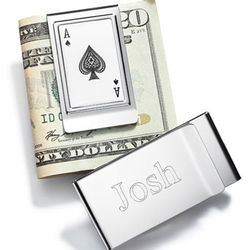Aces of Spades Money Clip