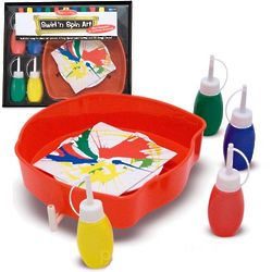 Swirl 'N Spin Art Kit